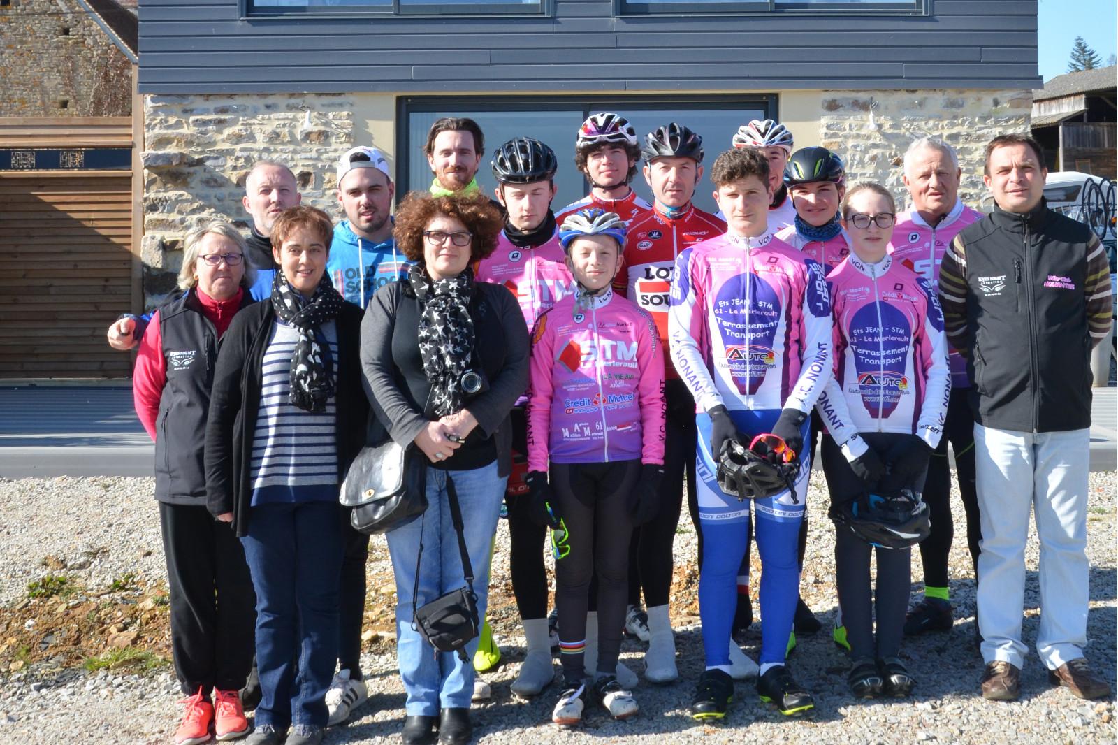 Le vélo club Nonantais s'est retrouvé pendant 3 jours le week end dernier au Gîte de la Monnerie au Cercueil pour un stage. Les Minimes – Cadets – Juniors –...