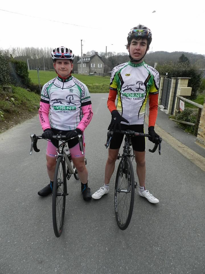 Notre junior Victor Lecocq-Preel participait à la ronde de Printemps le dimanche 20 Mars à Plancoet avec la sélection de l'Orne. Malheureusement il a dû abandonner. Notre cadet Armand Lamy...